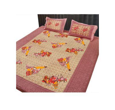 Bed sheet  villager print