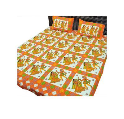 Bed sheet dandiya