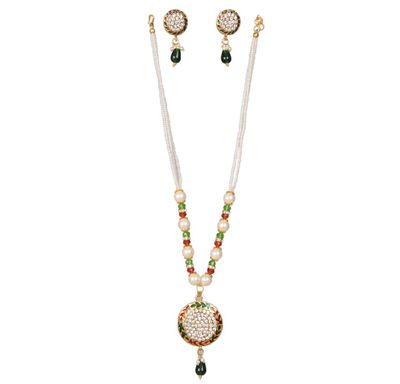 Necklace rajwada round