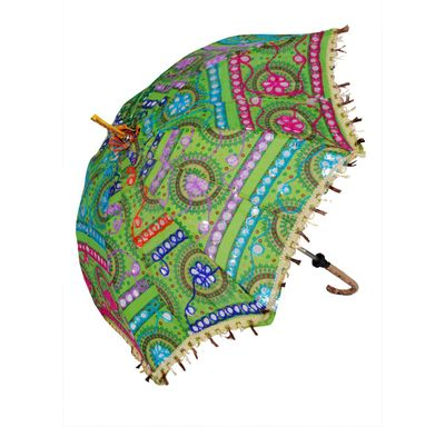 Umbrella with patra embroidery