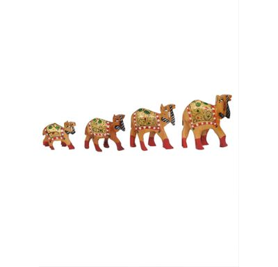 Camel set painted