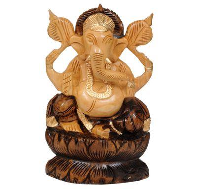 Ganpati idol painted