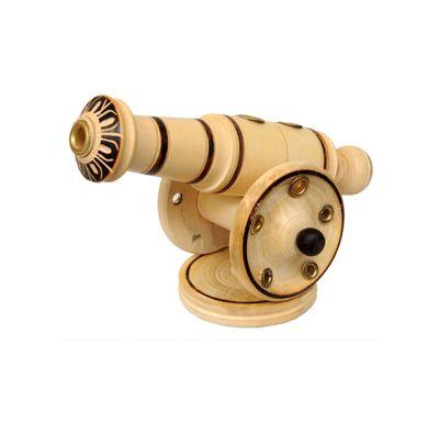 Cannon sculpture wooden
