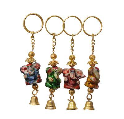 Key chain Ganpati bell