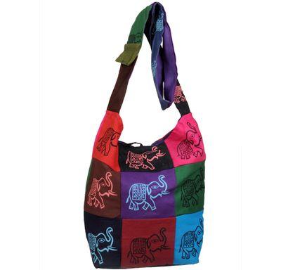 Hand bag elephant tukadi
