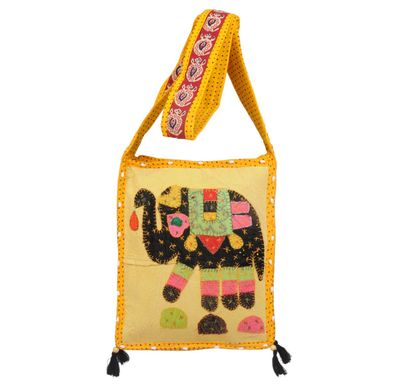 Shoulder bag elephant jogi small