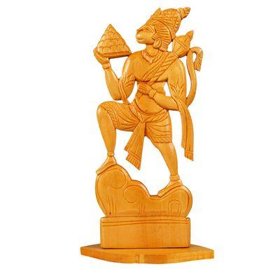 Hanuman ji sculpture wooden