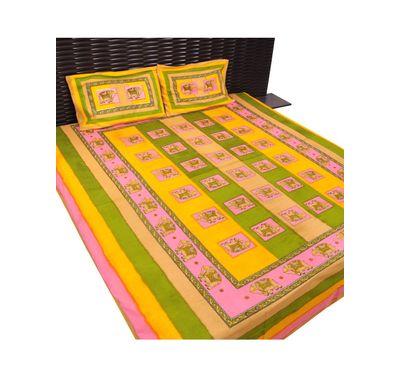 Bed sheet elephant print
