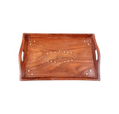 Wooden serving tray medium