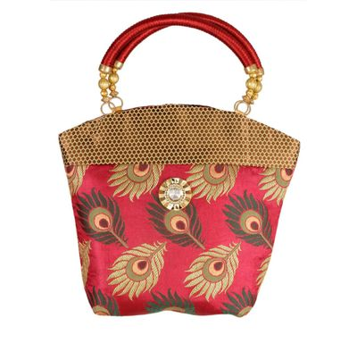 Hand bag mor pankh