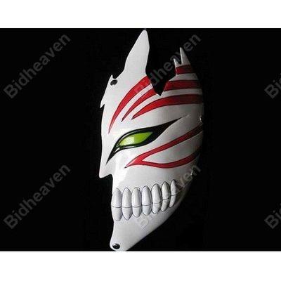 Bleach Hollow Ichigo Kurosaki Half Face PVC Mask