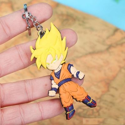 Dragon Ball Z Goku Super Saiyan 2 Keychain