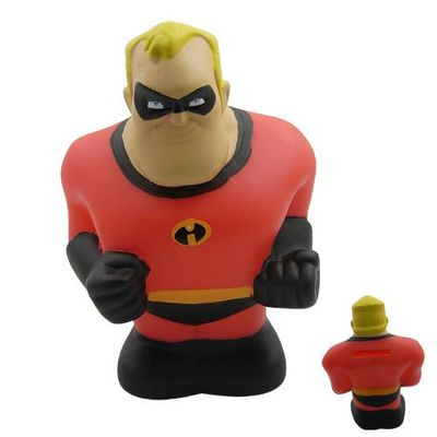 Incredibles Mr Incredible Toy Piggy Money Bank