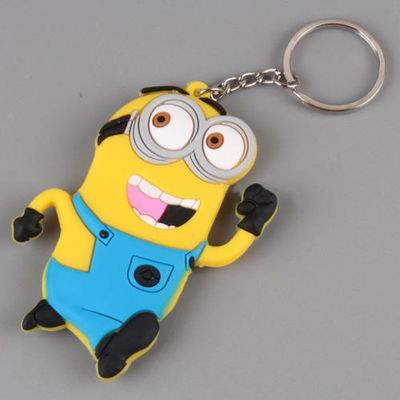 Despicable Me Minion PVC Figure Keychain Gift A3