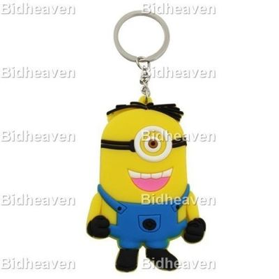 Despicable Me Minion PVC Figure Keychain Gift A2