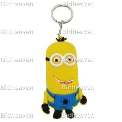 Despicable Me Minion PVC Figure Keychain Gift A1