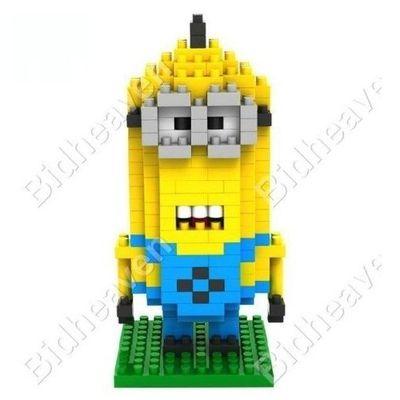 Despicable Me Minion Dave Figure Nano Building Blocks - LOZ