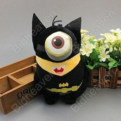 Despicable Me Cosplay Minions Stuart Batman Plush Doll