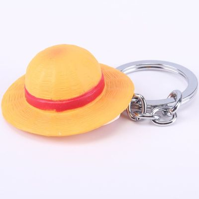 One Piece Portrait Of Pirates Monkey D Luffy Shanks Straw Hat Keychain