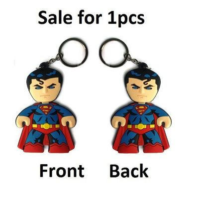 Superman Super Man Keychain