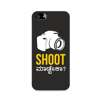 Shoot Madbeka Premium Printed Case For Apple iPhone 5