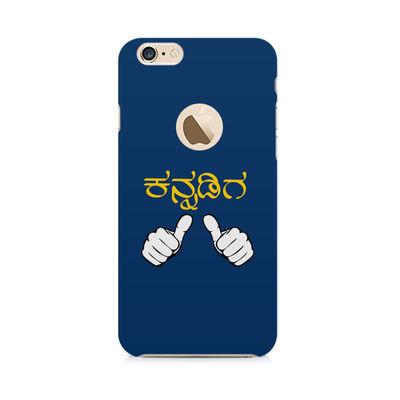 Nanu Kannadiga Premium Printed Case For Apple iPhone 6-6S With hole