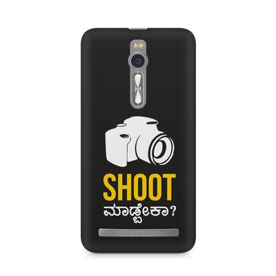 Shoot Madbeka Premium Printed Case For Asus Zenfone 2