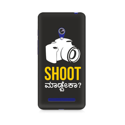 Shoot Madbeka Premium Printed Case For Asus Zenfone 5