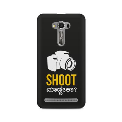 Shoot Madbeka Premium Printed Case For Asus Zenfone Selfie