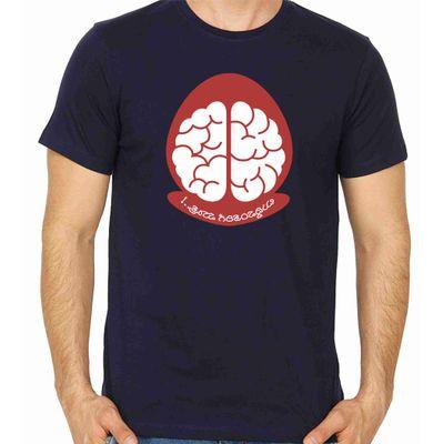 Buddivantarige Matra Navy Blue Color Round Neck T-Shirt