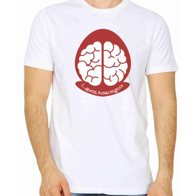 Buddivantarige Matra White Color Round Neck T-Shirt