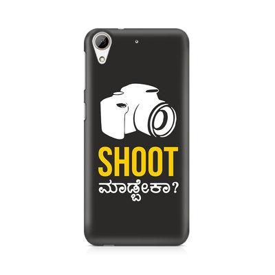 Shoot Madbeka Premium Printed Case For HTC Desire 626