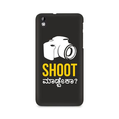 Shoot Madbeka Premium Printed Case For HTC Desire 816