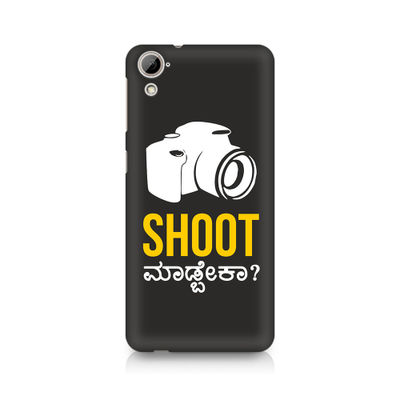 Shoot Madbeka Premium Printed Case For HTC Desire 820