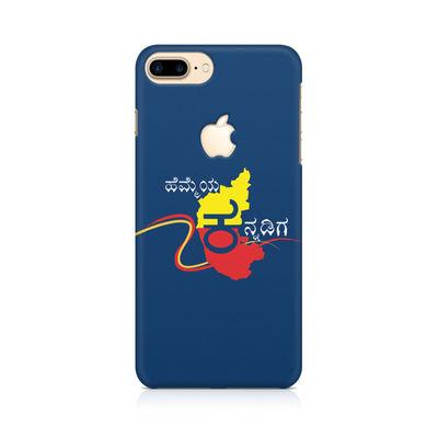 Hemmeya Kannadiga Premium Printed Case For Apple iPhone   7 Plus With Logo Cut