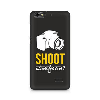 Shoot Madbeka Premium Printed Case For Huawei Honor 4C