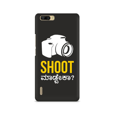 Shoot Madbeka Premium Printed Case For Huawei Honor 6 Plus