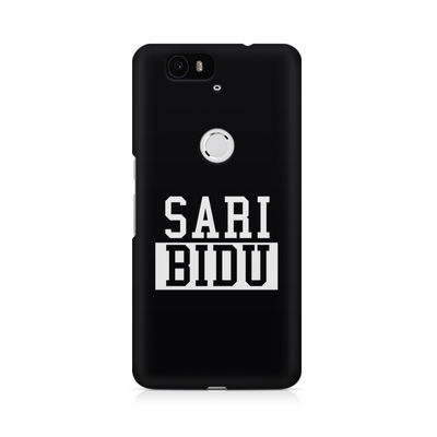Sari Bidu Premium Printed Case For Huwaei Nexus 6P