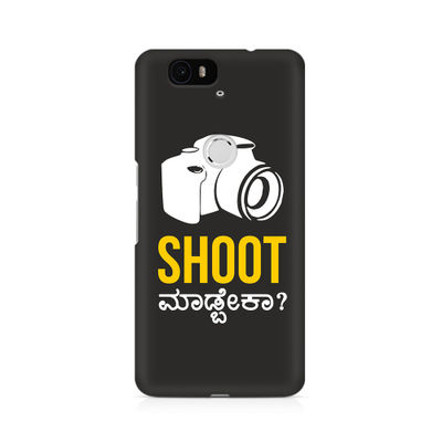 Shoot Madbeka Premium Printed Case For Huwaei Nexus 6P