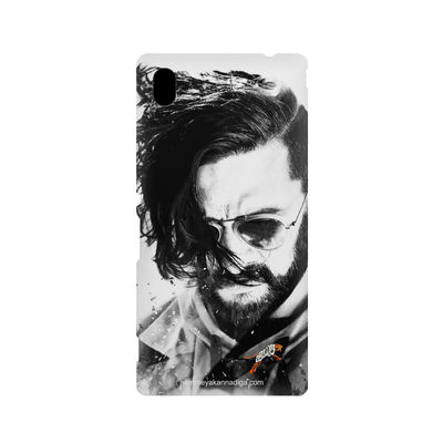 Kichha Sudeep Mobile Back Case Hebbuli 1 Sony Xperia M4
