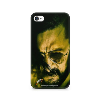 Kichha Sudeep Mobile Back Case Hebbuli 2 Apple iPhone 4