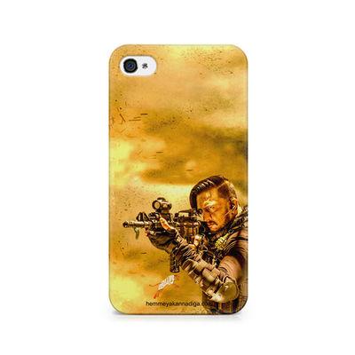 Kichha Sudeep Mobile Back Case Hebbuli 3 Apple iPhone 4