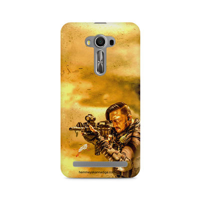 Kichha Sudeep Mobile Back Case Hebbuli 3 Asus Zenfone 2 Laser ZE550KL