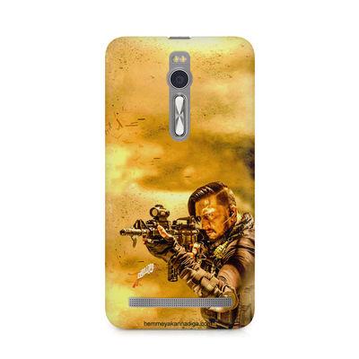 Kichha Sudeep Mobile Back Case Hebbuli 3 Asus Zenfone 2