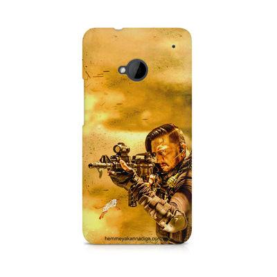 Kichha Sudeep Mobile Back Case Hebbuli 3 HTC One M7