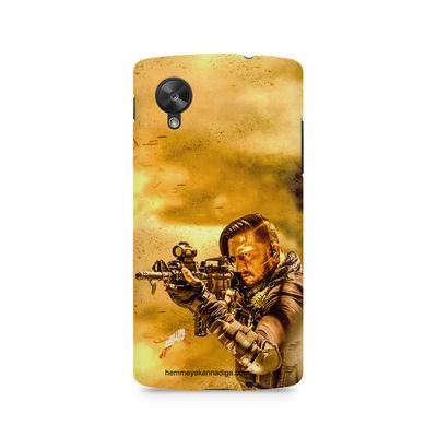 Kichha Sudeep Mobile Back Case Hebbuli 3 LG Nexus 5