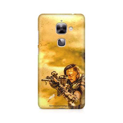 Kichha Sudeep Mobile Back Case Hebbuli 3 LeEco Le 2