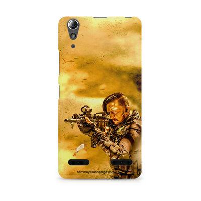 Kichha Sudeep Mobile Back Case Hebbuli 3 Lenovo A6000