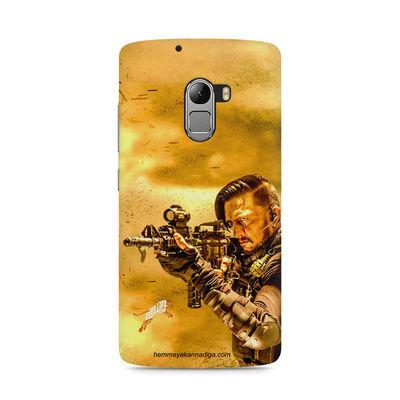 Kichha Sudeep Mobile Back Case Hebbuli 3 Lenovo K4 Note