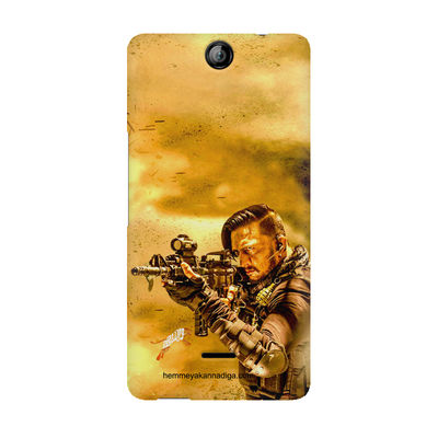 Kichha Sudeep Mobile Back Case Hebbuli 3 Micromax Canvas Juice 3 Q392